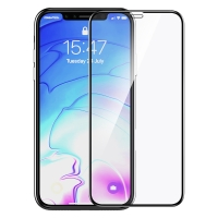 Защитное cтекло Devia для Apple iPhone X/Xs, Real 3D Curved, Черный
