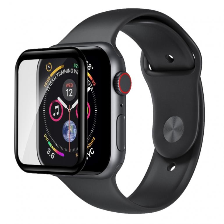 Защитное cтекло Devia для Apple Watch 4, 40mm, Черный
