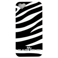 Чехол ARU для iPhone 5/5S/5SE Zebra Stripe Black