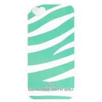 Чехол ARU для iPhone 5/5S/5SE Zebra Stripe Green