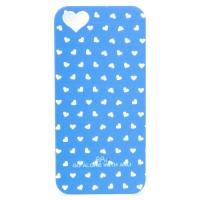Чехол ARU для iPhone 5/5S/5SE Hearts Blue