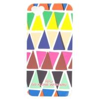 Чехол ARU для iPhone 5/5S/5SE Triangle Mix & Match
