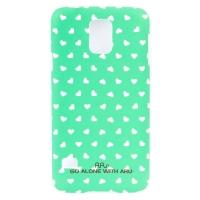 Чехол ARU для Samsung Galaxy S5 Hearts Green