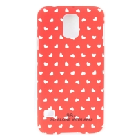 Чехол ARU для Samsung Galaxy S5 Hearts Red