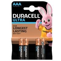 Батарейка Duracell Ultra LR03 MX2400 4 шт. AAA