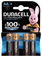 Батарейка Duracell Ultra LR06 MX1500 4 шт. АА