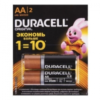 Батарейка Duracell LR06 MN1500 2 шт. AA