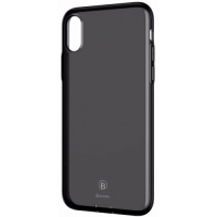 Чехол Baseus для iPhone X/Xs Pluggy TPU Transparent Black