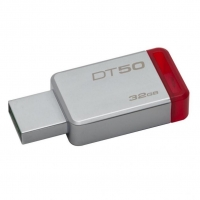 USB накопитель Kingston DataTraveler 50 32GB Gray/Red