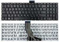 Клавиатура для ноутбука HP Pavilion 15-ab 15-ak 15-au 15-ar 15-aq 15-aw 15-bc 15-bk 17-ab 17-g Envy m6-ar черная без рамки Прямой Enter