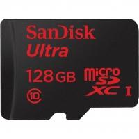 Карта памяти SanDisk Ultra microSDXC 128GB Class 10 UHS-1