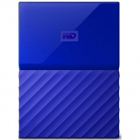 Внешний HDD Western Digital My Passport 2TB USB 3.0 Blue