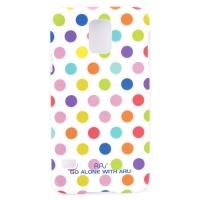 Чехол ARU для Samsung Galaxy S5 Cutie Dots White Rainbow