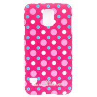 Чехол ARU для Samsung Galaxy S5 Cutie Dots Red