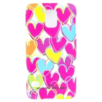 Чехол ARU для Samsung Galaxy S5 Cutie Madly In Love White