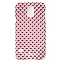 Чехол ARU для Samsung Galaxy S5 Hearts Pink