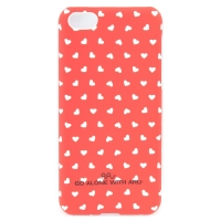 Чехол ARU для iPhone 5C Hearts Red