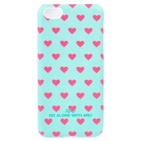 Чехол ARU для iPhone 5C Hearts Ocean