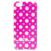 Чехол ARU для iPhone 5C Cutie Dots Rose