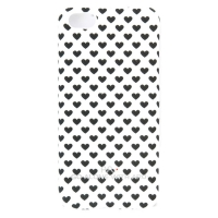 Чехол ARU для iPhone 5C Hearts Black