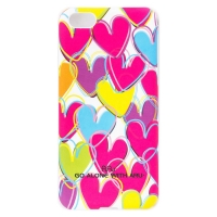 Чехол ARU для iPhone 5C Madly in Love White