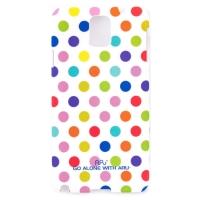 Чехол ARU для Samsung Galaxy Note 3 Cutie Dots White Rainbow