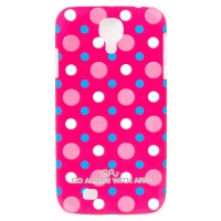 Чехол ARU для Samsung Galaxy S4 Cutie Dots Red