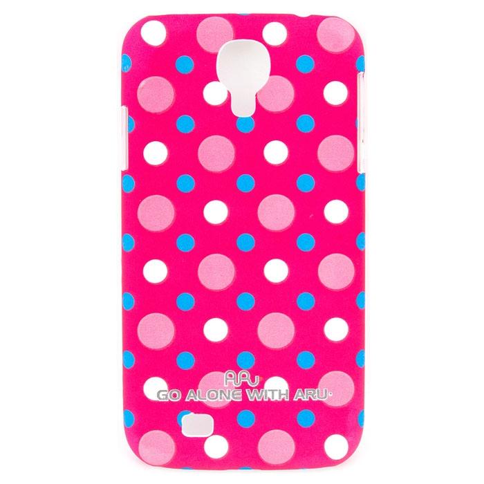 Чехол ARU для Samsung Galaxy S4 Cutie Dots Red