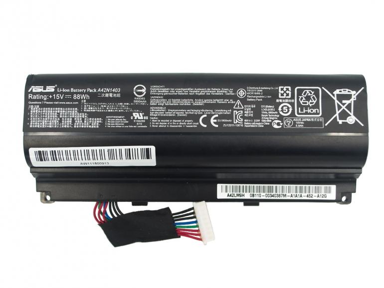 Батарея Asus G751J G751JM G751JL G751JT G751JY ROG G751J ROG G751JM ROG G751JL ROG G751JT ROG G751JY 15V 5800mAh
