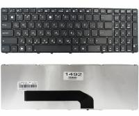 Клавиатура для ноутбука Asus K50 K60 N50 G70 P50IJ X5DIJ черная с рамкой