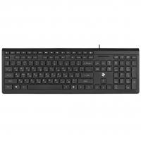 Клавиатура 2E KM1020 Slim USB Black