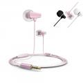Наушники Remax RM-701 для iOS Pink
