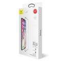 Защитное cтекло Baseus для iPhone X, iPhone Xs, iPhone 11 Pro, 0.3mm, Черный