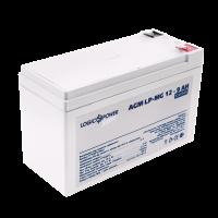 Аккумулятор мультигелевый LogicPower AGM LP-MG 12-9 AH SILVER