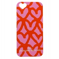 Чехол ARU для iPhone 5/5S/5SE Madly in Love Pink