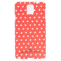 Чехол ARU для Samsung Galaxy Note 3 Hearts Red