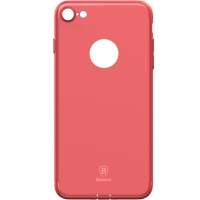 Чехол Baseus для iPhone 8/7 Simple Solid Red