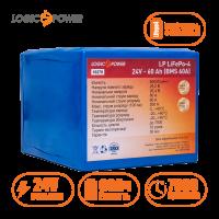 Аккумулятор LogicPower Lifepo4 24V-60Ah (BMS 60A)