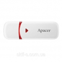 USB накопитель Apacer AH333 64GB White