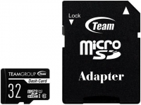 Карта памяти Team microSDHC 32GB Class10 UHS-I + SD-adapter