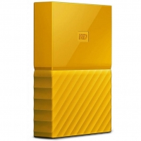 Внешний HDD Western Digital My Passport 4TB USB 3.0 Yellow