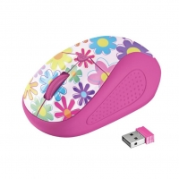 Мышь Trust Primo Wireless Pink Flowers