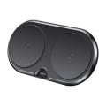 Беспроводное зарядное устройство Baseus Dual Black