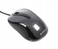 Мышь A4Tech N-360-1 USB Glossy Grey