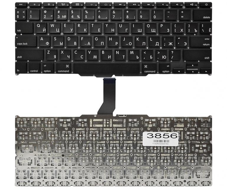 """Клавиатура для ноутбука Apple MacBook Air 11"""" A1370 A1465 MC505 MC506 черная Прямой Enter"""