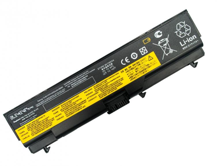 Батарея Elements PRO для Lenovo ThinkPad E40 E50 Sl410 T410 T510 W510 11.1V 4400mAh