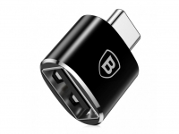 Переходник Baseus USB Female to Type-C Male Черный