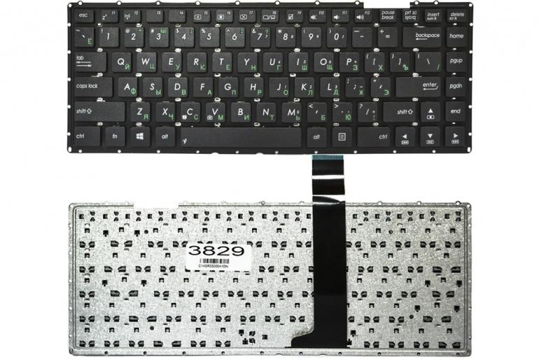 Клавиатура для ноутбука Asus X450C X450V X450VB A450C A450V A450CA A450CC черная без рамки прямой Enter