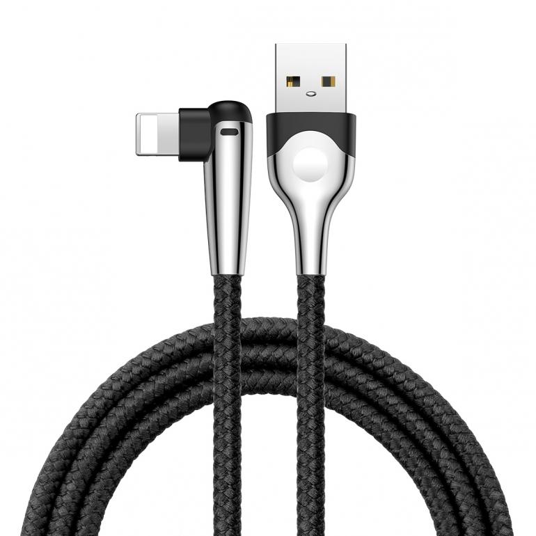 Кабель Baseus Sharp-bird Mobile Game USB 3.0 to Lightning 2.4A 1M Черный