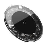 Беспроводное зарядное устройство Baseus Simple 15W Прозрачный